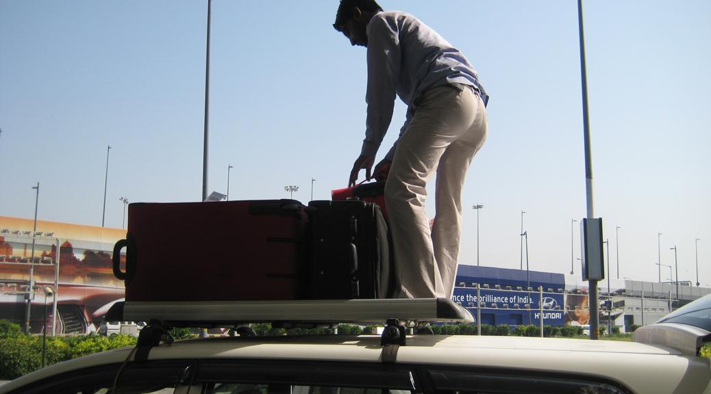 Indien // Ankunft in Delhi