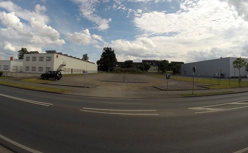RC-Fun in Paderborn #2: Benteler-Parkplatz an der Talle