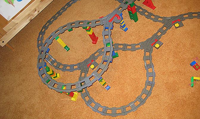 Lego Duplo Train #13 - Final Rail